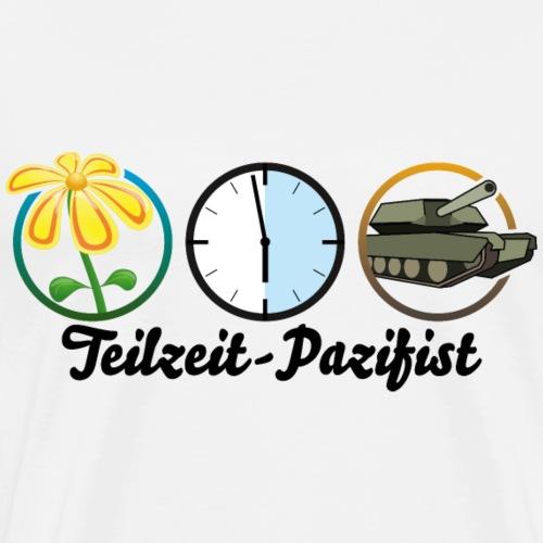 Teilzeit-Pazifist - Männer Premium T-Shirt