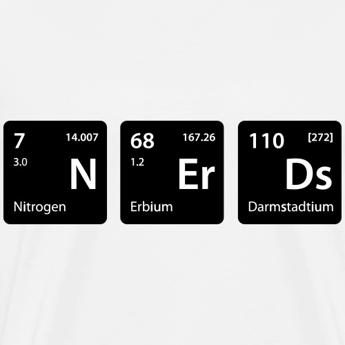Element Nerds - Männer Premium T-Shirt