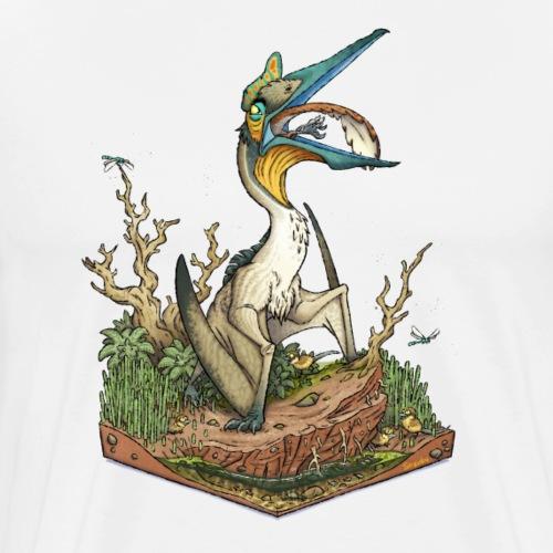 Quetzalcoatlus - Men's Premium T-Shirt
