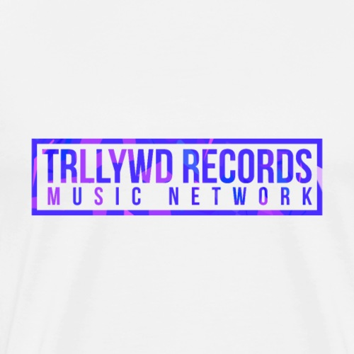 TRLLYWD Records   Purple - Männer Premium T-Shirt