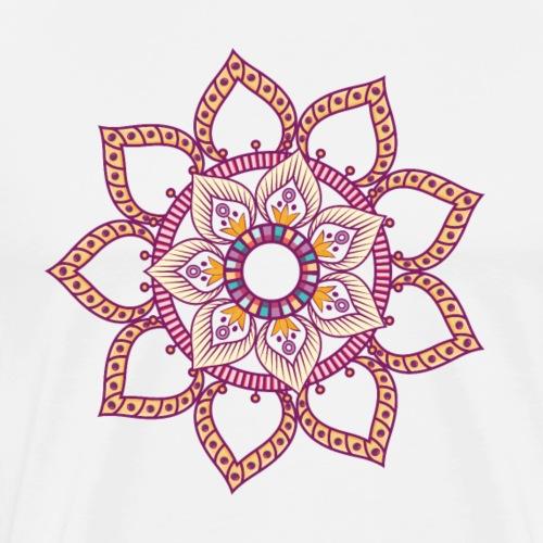 Mandala 2 - T-shirt Premium Homme