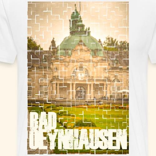 Super Fancy Kaiser Puzzle - Männer Premium T-Shirt
