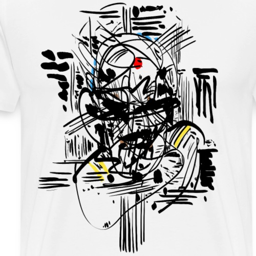 Samurai Ink - Men's Premium T-Shirt