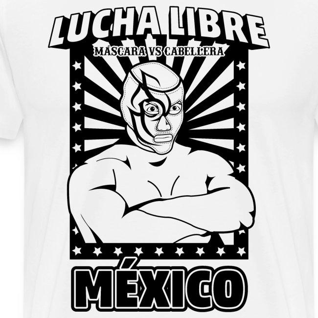 Lucha Libre Mexico Negro