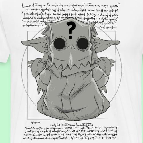 Misterioso bebe vitruvio - Camiseta premium hombre