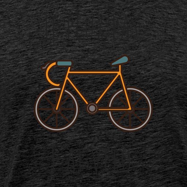 t shirt cyclisme je peux pas j'ai vélo dessin