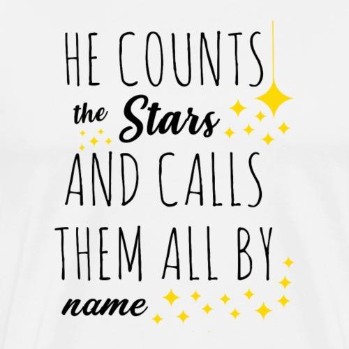 He counts the star N - Maglietta Premium da uomo