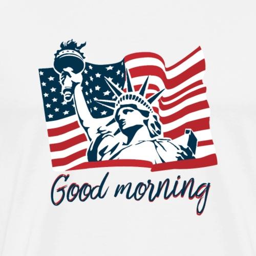 Etats-Unis - T-shirt Premium Homme