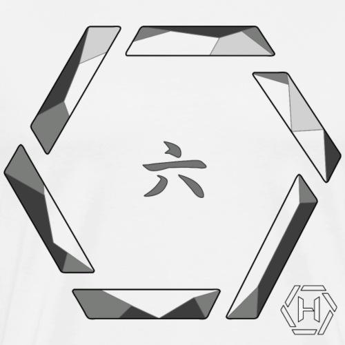Hex crystal kanji - Maglietta Premium da uomo
