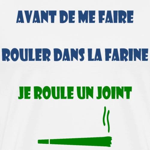 rasta rouler joint humour drole - T-shirt Premium Homme
