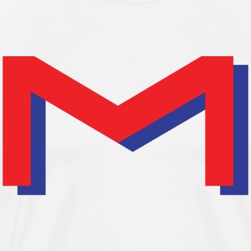 Losse m - Mannen Premium T-shirt