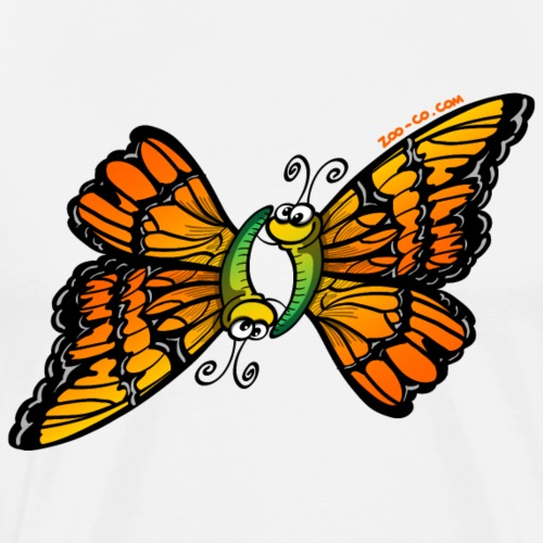 Loving Butterflies - Men's Premium T-Shirt