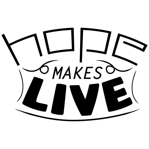 HOPE MAKES LIVE - T-shirt Premium Homme