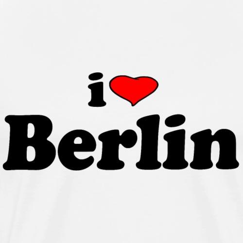 Ich liebe Berlin (I love Berlin) - Männer Premium T-Shirt