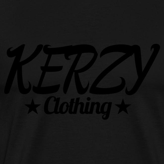 Official KerzyClothing T-Shirt Black Edition