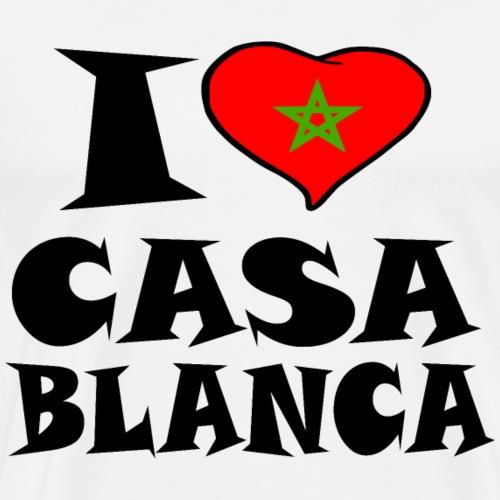 Casablanca - I love Casablanca - Männer Premium T-Shirt