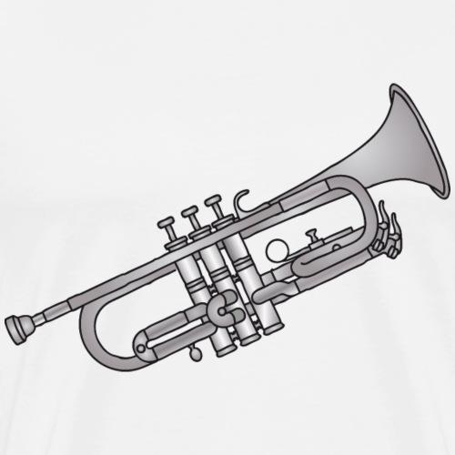 Trompete Blasinstrument c - Männer Premium T-Shirt