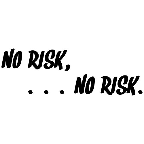 No risk - no risk. ED.2 (Motivfarbe änderbar!) - Männer Premium T-Shirt