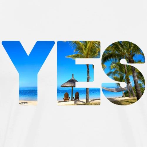 Karibik Urlaub - Männer Premium T-Shirt