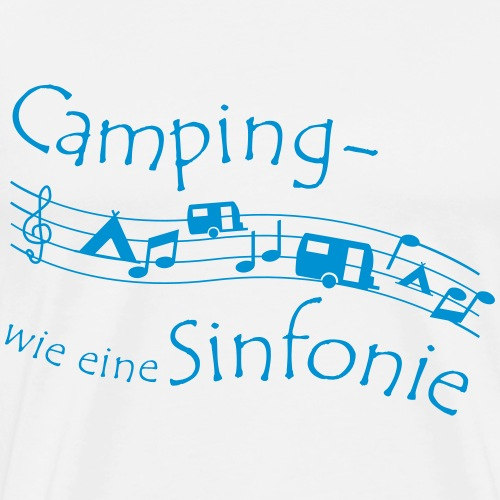 Campingsinfonie - Männer Premium T-Shirt