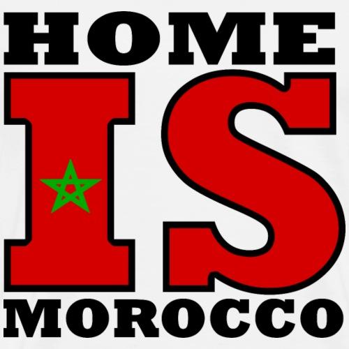 Maroc - Marokko - Home is Morocco - Männer Premium T-Shirt