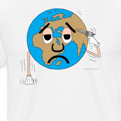 mundo suicida world - Camiseta premium hombre