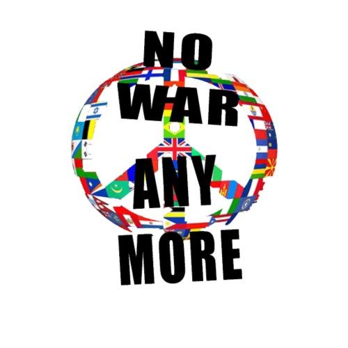 #1 NO WAR ANYMORE - Männer Premium T-Shirt