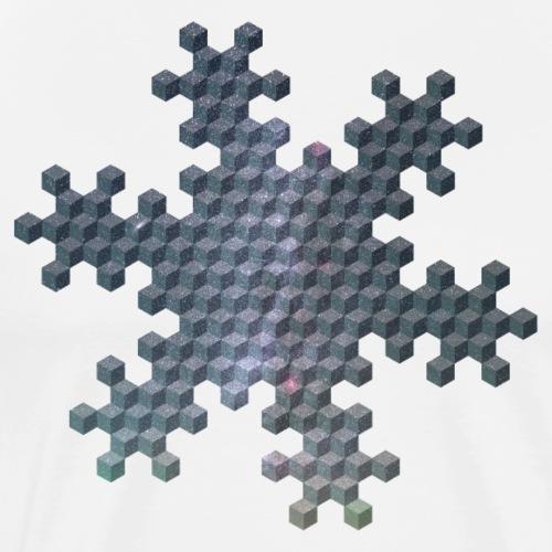 Sternflockencube R13-15 - Männer Premium T-Shirt