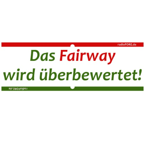 79862e95d0 das Fairway wird ueberbewertet - Männer Premium T-Shirt