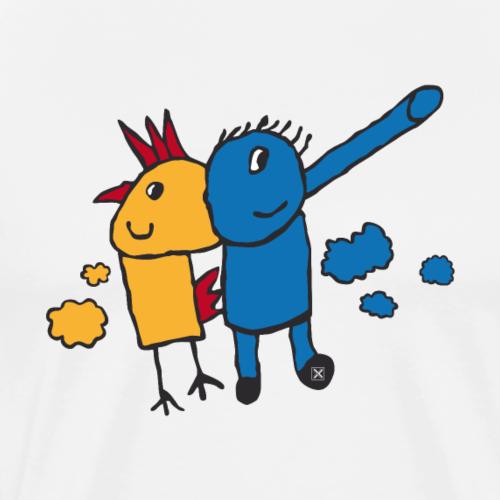 Gallifante - Camiseta premium hombre