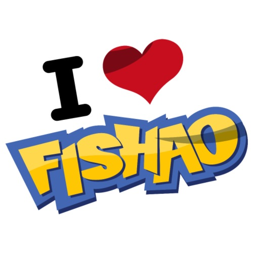 I Love Fishao - Männer Premium T-Shirt