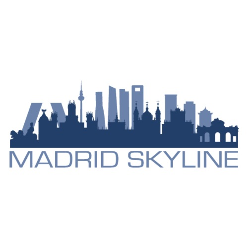 MADRIDSKYLINE - Camiseta premium hombre