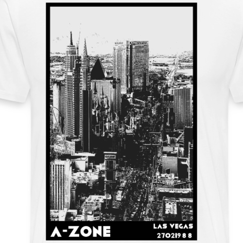 A Vegas Zone - Men's Premium T-Shirt
