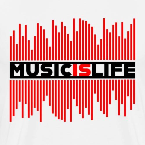 MusicIsLife - Men's Premium T-Shirt