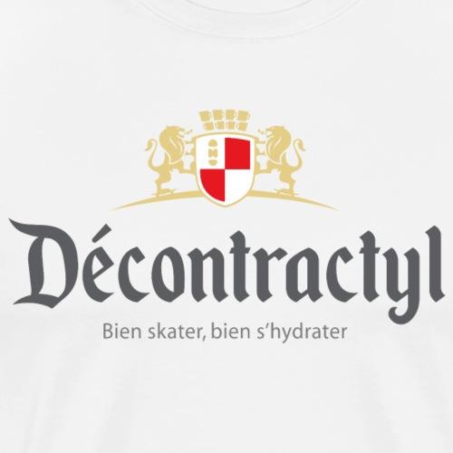 skateboard decontractyl - T-shirt Premium Homme