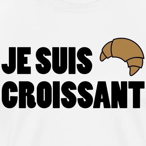 JE SUIS CROISSANT - Men's Premium T-Shirt