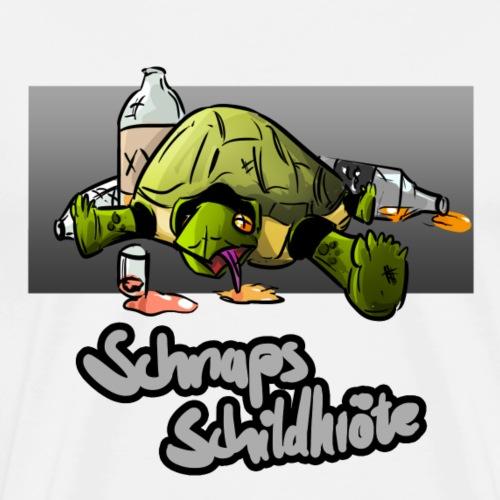 Schnapsschildkröte - Männer Premium T-Shirt