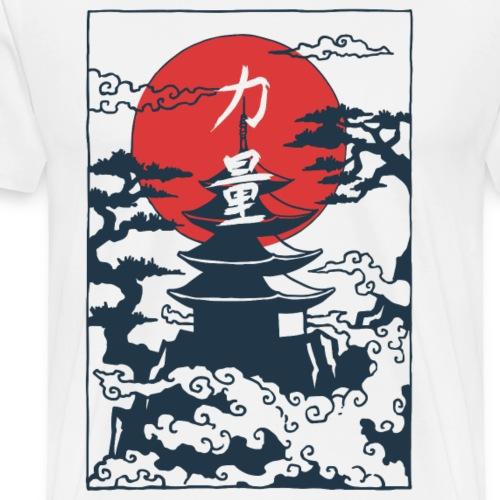 Pagoda - Men's Premium T-Shirt