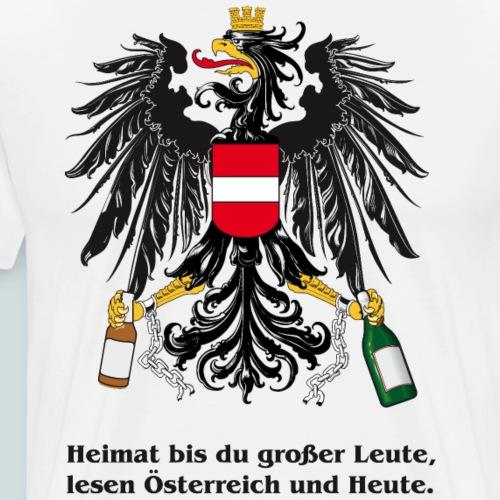 Heimat bst du grosser Leute - Männer Premium T-Shirt