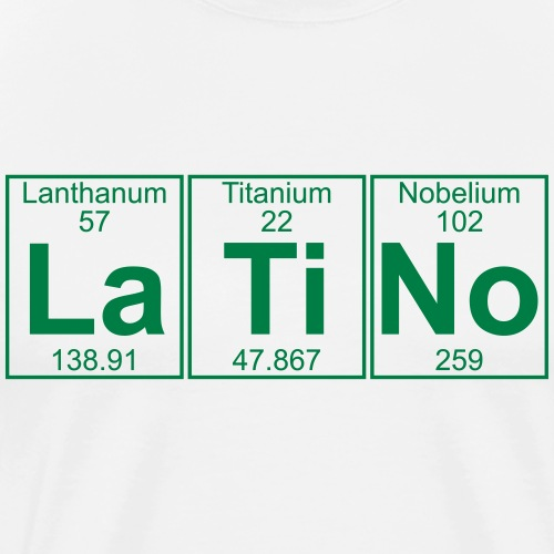 La-Ti-No (latino) - Full - Men's Premium T-Shirt