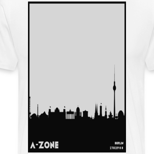 Berlin Skyline - Men's Premium T-Shirt