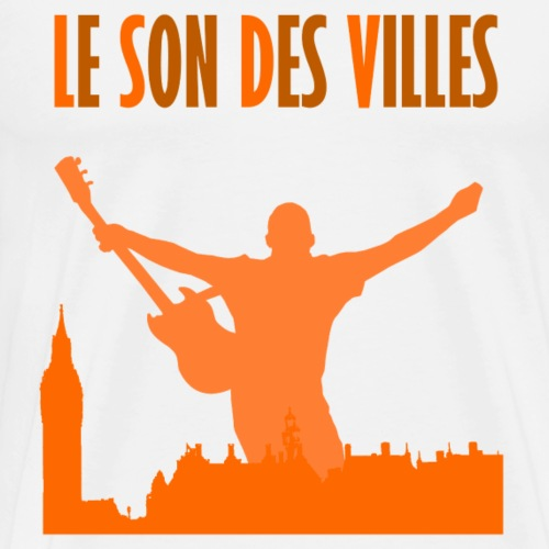 Le Son Des Villes _ The City is Mine - T-shirt Premium Homme