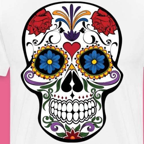 skull catrina - Camiseta premium hombre