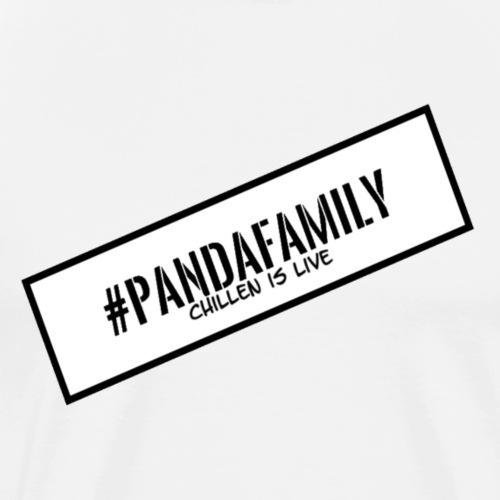 #PandaFamily [Balken] - Männer Premium T-Shirt