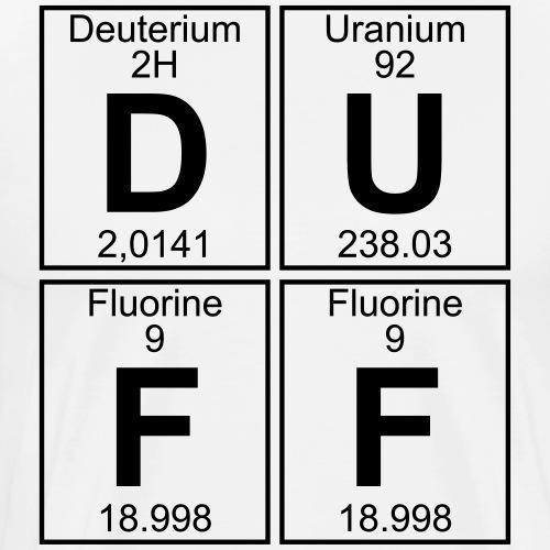 D-U-F-F (duff) - Men's Premium T-Shirt
