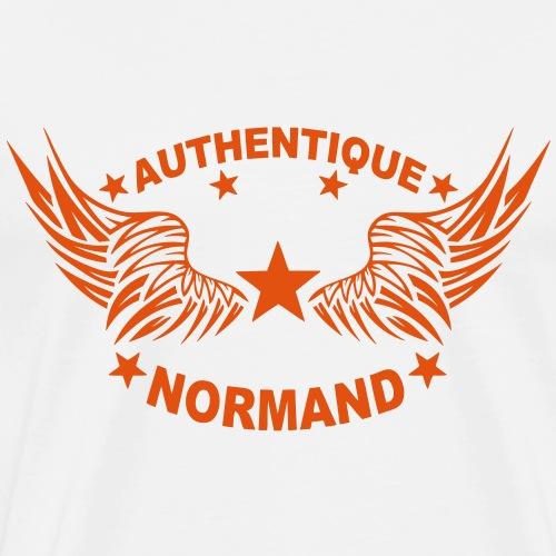 normand authentique 2 logo aile 6 1107 - T-shirt Premium Homme