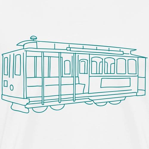 San Francisco Cable Car - Männer Premium T-Shirt