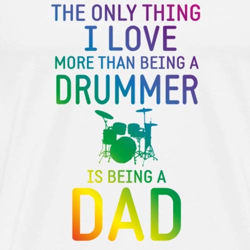 Drummer & Dad rainbow