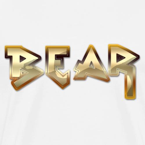 Metal Bear Retro Bag - Men's Premium T-Shirt