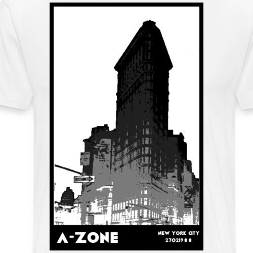 Flat Iron - Men's Premium T-Shirt